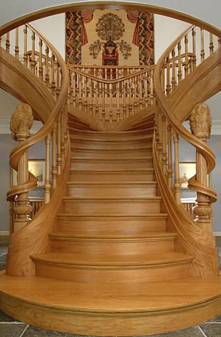 Đặt cầu thang đẹp