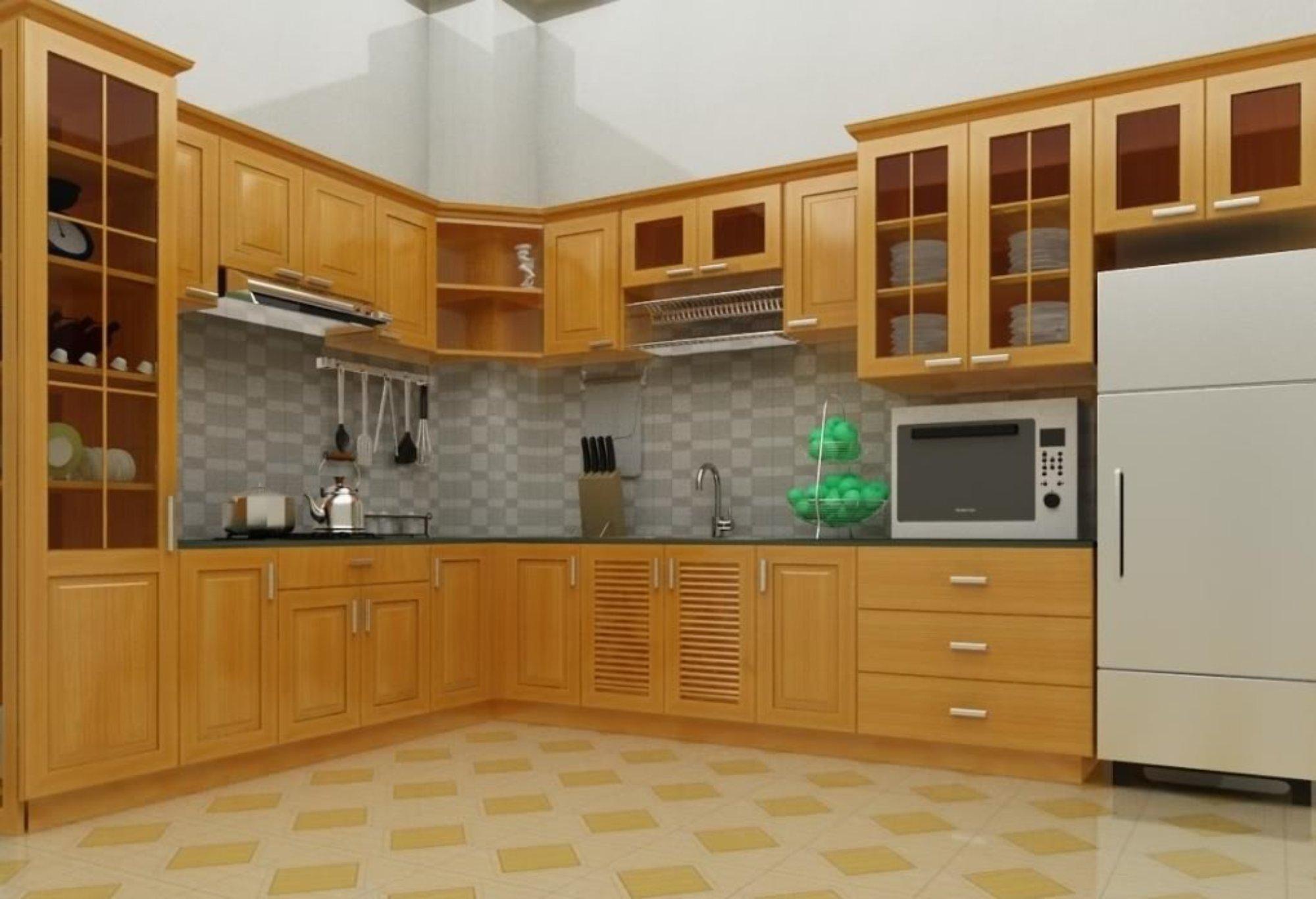 Các loại tủ bếp được yêu thích hiện nay