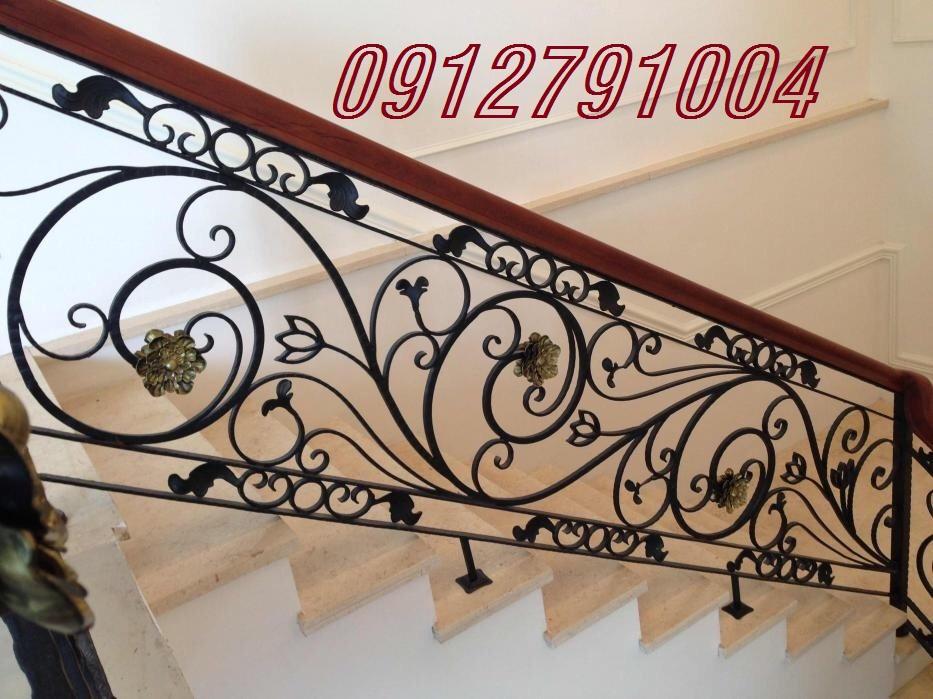 Cầu thang sắt Hà Nội