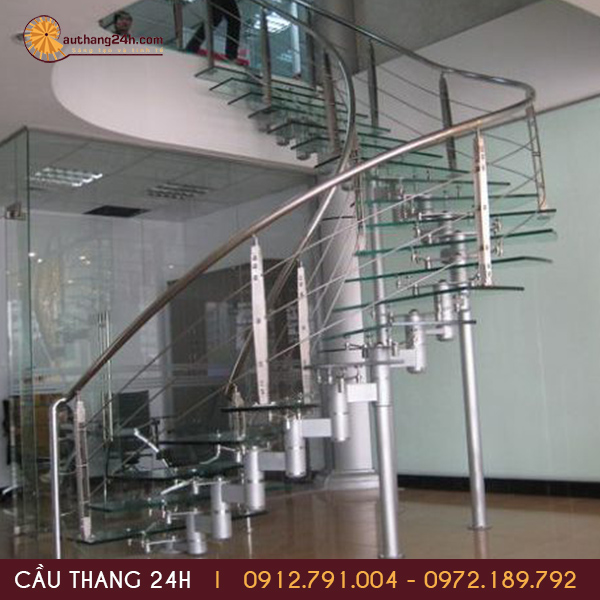 Cầu thang xoắn ốc - xu thế cầu thang hiện đại