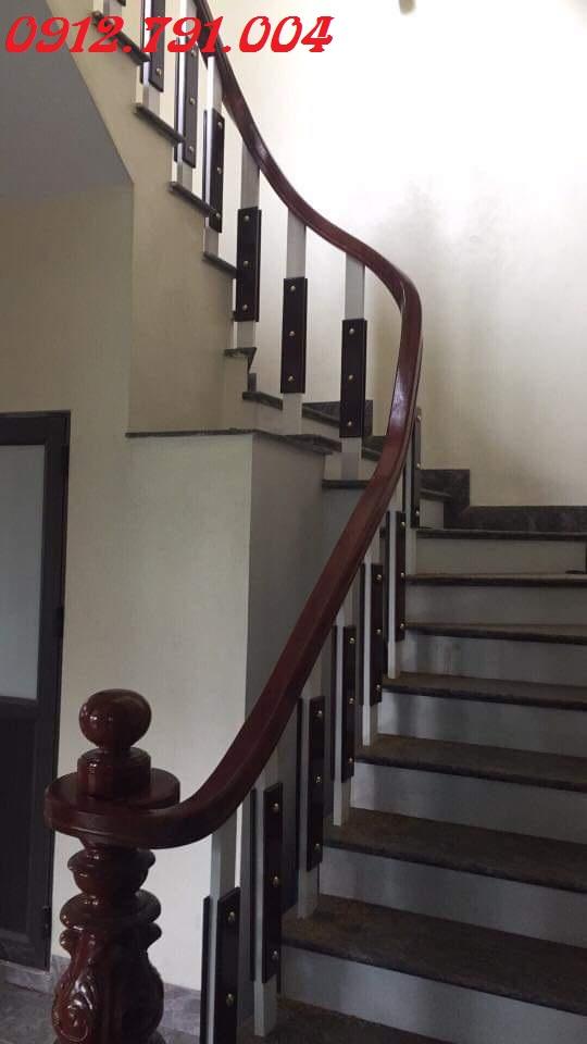 Đặc điểm của cầu thang gỗ công nghệp