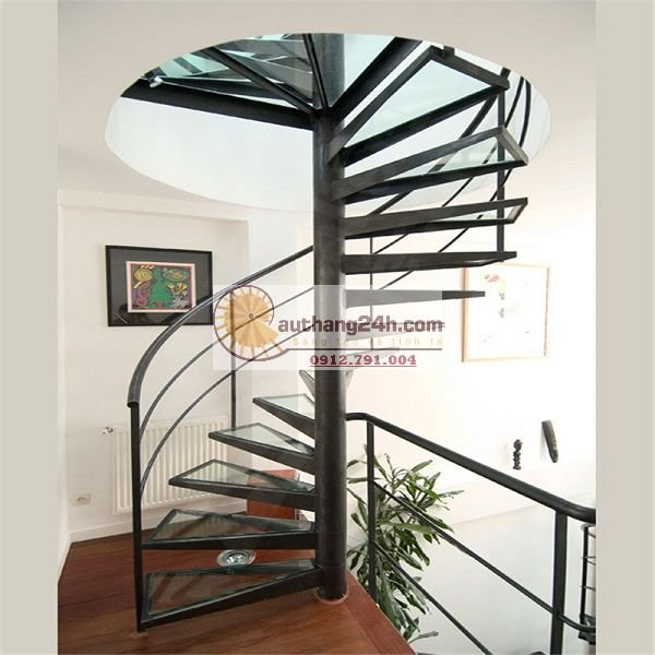 Kiểu dáng nhà nào thích hợp làm cầu thang xoắn ốc?