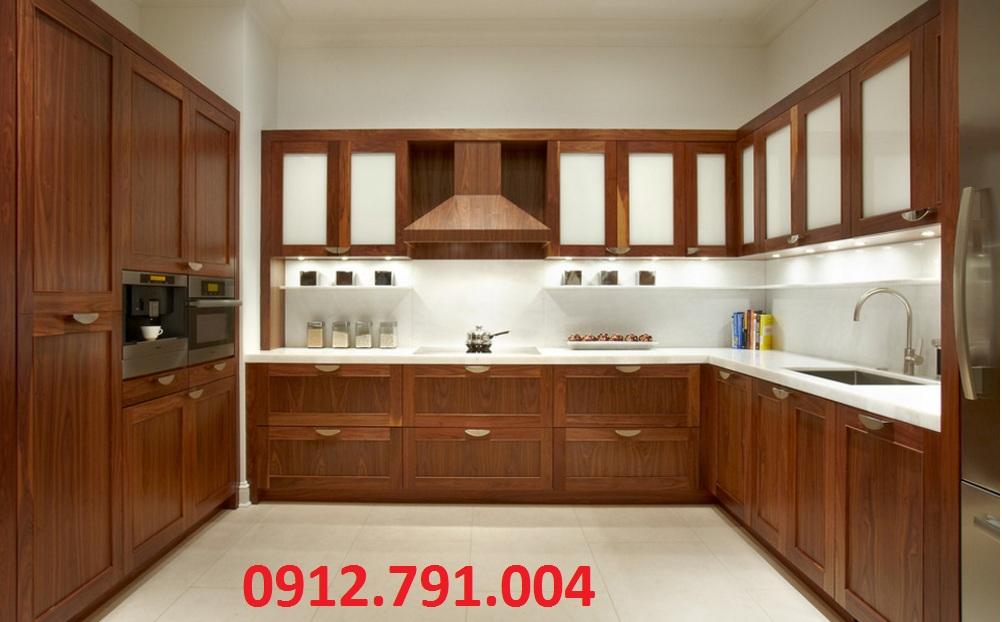 Tủ bếp gỗ nên chọn chất liệu gì