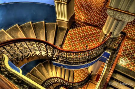 những mẫu cầu thang sắt đẹp